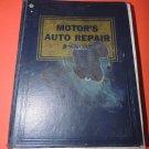 Vintage Motor's Auto Repair Manual 1964 Hardback 27th Edition  USA