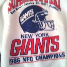 GIANTS/FOOTBALL/SWEATSHIRT/SUPER BOWL XXI 1987/GIANTS/NFC CHAMPIONS/TRENCH LG