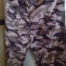 "Lounge Pants Slacks Men's Unisex Cammo Gray Camoflage 30"" x 29"""