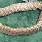 "Belt Coin Look Gold Tone Stretch From 29"" to 36"" Approx.  Belt Vintage Belt"