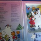 FROSTY THE  SNOWMAN ANIMATED BOOK DECOR WITH THE SONG PRINTED & SONG WHEN OPEN
