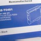 INK CARTRIDGES (2) BLACK-REMANUFACTURED-STYLUS PHOTO R200/R300/R300M/RX500/RX600
