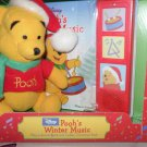 Winnie the Pooh's Winter Music Toy Disney 18 mo+ Play- A- Sound Child  Can Learn