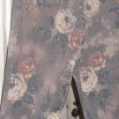 "Denim Jeans ""NEWPORT NEWS"" Stretch Jeans Printed With Roses - Small Vintage Jean"