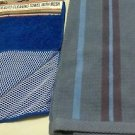 Kitchen BAR STRIPED STRIPED LARGE TOWEL & MICROFIBER CLEANING CLOTH MESH BLUES