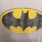 T SHIRT XL BATMAN DISTRESSED BAT LOGO UNIQUE UNCOMMON BATMAN TEE DC COMICS GREY