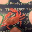 "BEACH OCEAN SUMMER COASTAL NAUTICAL WALL-DOOR SCULPTURE BLUE STARFISH 13""X13"""