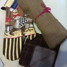 KITCHEN BAR BARBECUE (1) CHUBBY CHEF OVEN MITT.1  LG. UTILITY TOWEL (2) SCRUBBIE