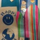 TOWELS BAR KITCHEN CLOTHS  (2) (1) OVEN MITT (1) MICROFIBER CLOTH  BLUES  (SALE)