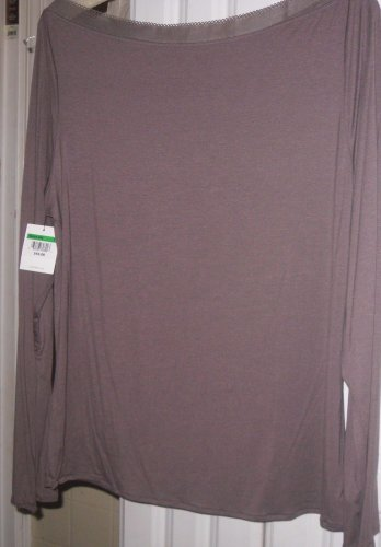 Top  Sleep Calvin Klein Intimates Lounge Wear - Top - New Large Taupe - Blouse