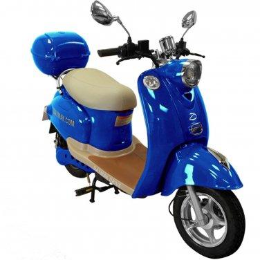 Daymak Gatto 500W 48V Electric Bicycle Electric Bike E-Bike eBike Moped Blue Free Shipping