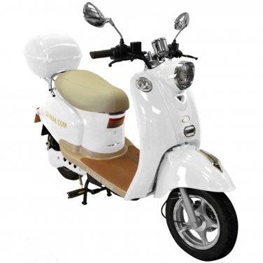 Daymak Gatto 500W 48V Electric Bicycle Electric Bike E-Bike eBike Moped White Free Shipping