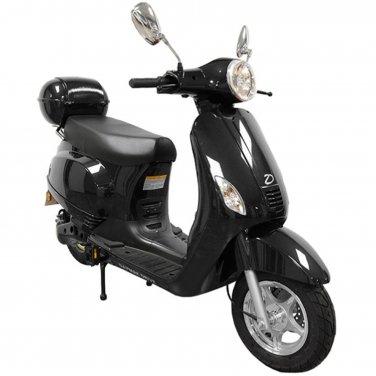 Daymak Amalfi 500W, 84V Electric Bicycle Electric Bike E-Bike eBike Moped Black Free Shipping