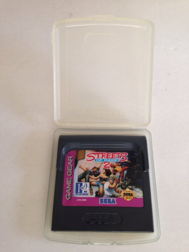Sega Game Gear Streets of Rage 2 w/Clamshell Case