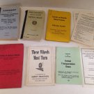 Vtg 60s/70s L&N Railroad RR Book lot Agreement Safety Rules Pay Maintenance