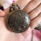 Fullmetal Alchemist Transmutation Circle Pocket Watch