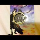 Anime Katekyo Hitman Reborn Vongola Metal Quartz Pocket Watch Free Shipping