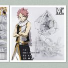 Cool Cosplay Costume anime Fairy tail Natsu Dragneel white checks tassel scarf