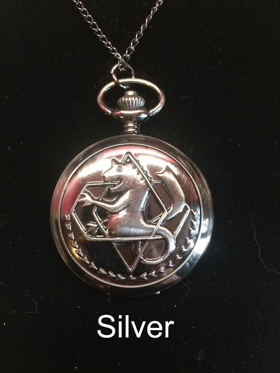 Cosplay Fullmetal Alchemist Edward Elric Pocket Watch