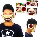 HOT Anime Attack on Titan Anti-dust Mouth Filter Mask Respirator Ear Warmer Muff