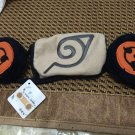 Anime Naruto cosplay Unisex Winter plush masks Earmuff