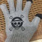Anime One piece logo Gloves