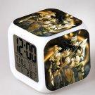 Japanese Anime DRAGON BALL  Seven Color Change Glowing Digital Alarm Clock