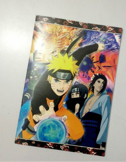 Lot of 5  Anime Naruto notebook