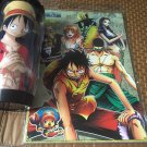 Anime One Piece Water Bottle/ Mugs with a notebook