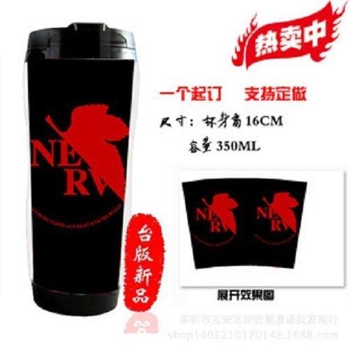 Japanese Anime NEON GENESIS EVANGELION Cosplay Collection Coffee Milk Mug Travel Warm Cup