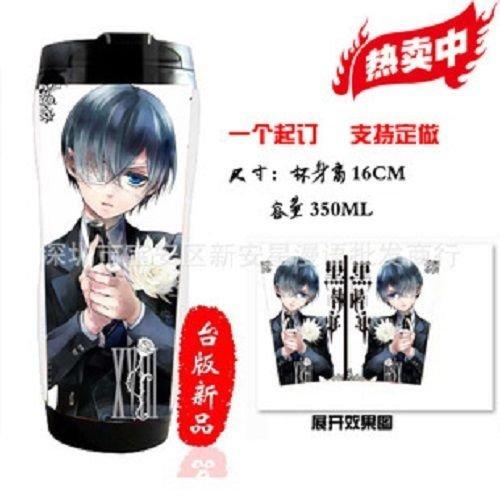 Hot Japanese Anime Cosplay Black Butler Collection Coffee Milk Mug Travel Warm Cup