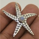 Sea Starfish Moonstone 925 Sterling Silver Pendant Bali Jewelry SP416 L8281