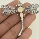 Amazing Design Bali Dragonfly Gold Plated Sterling Silver Charm Pin Pendant