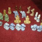 Large Lot 23 Whimsies Wade Circus Animals England -Wow!