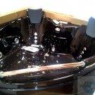 BLACK - 2 Person Indoor Hot Tub Bathtub Sauna Hydrotherapy Massage SPA 005A
