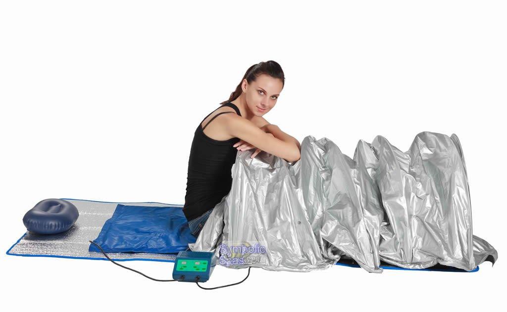 Portable FIR Far Infrared Sauna Slimming Dome Blanket SPA SALON Weight Loss