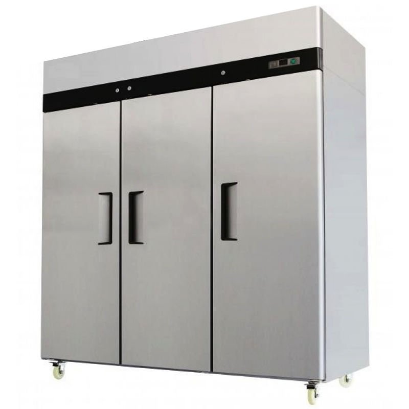 3 Door Stainless Steel Reach In Commercial Refrigerator MBF-8006