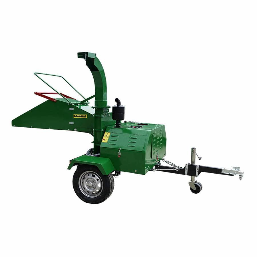 22HP Diesel Wood Chipper / Shredder with Tow Package