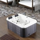 2 Person Hydrotherapy Bathtub Hot Bath Tub Whirlpool Jacuzzi type SPA w/ Hard Top Cover - 085B