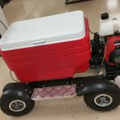 49cc Gas 4 Stroke Cooler Scooter Tailgate Party Mobility RED