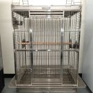 304 Stainless Steel Indoor / Outdoor Parrot Macaw Bird Cage w/ Play Stand