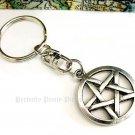 Pentagram Pentacle Handbag Charm Key Ring Keychain