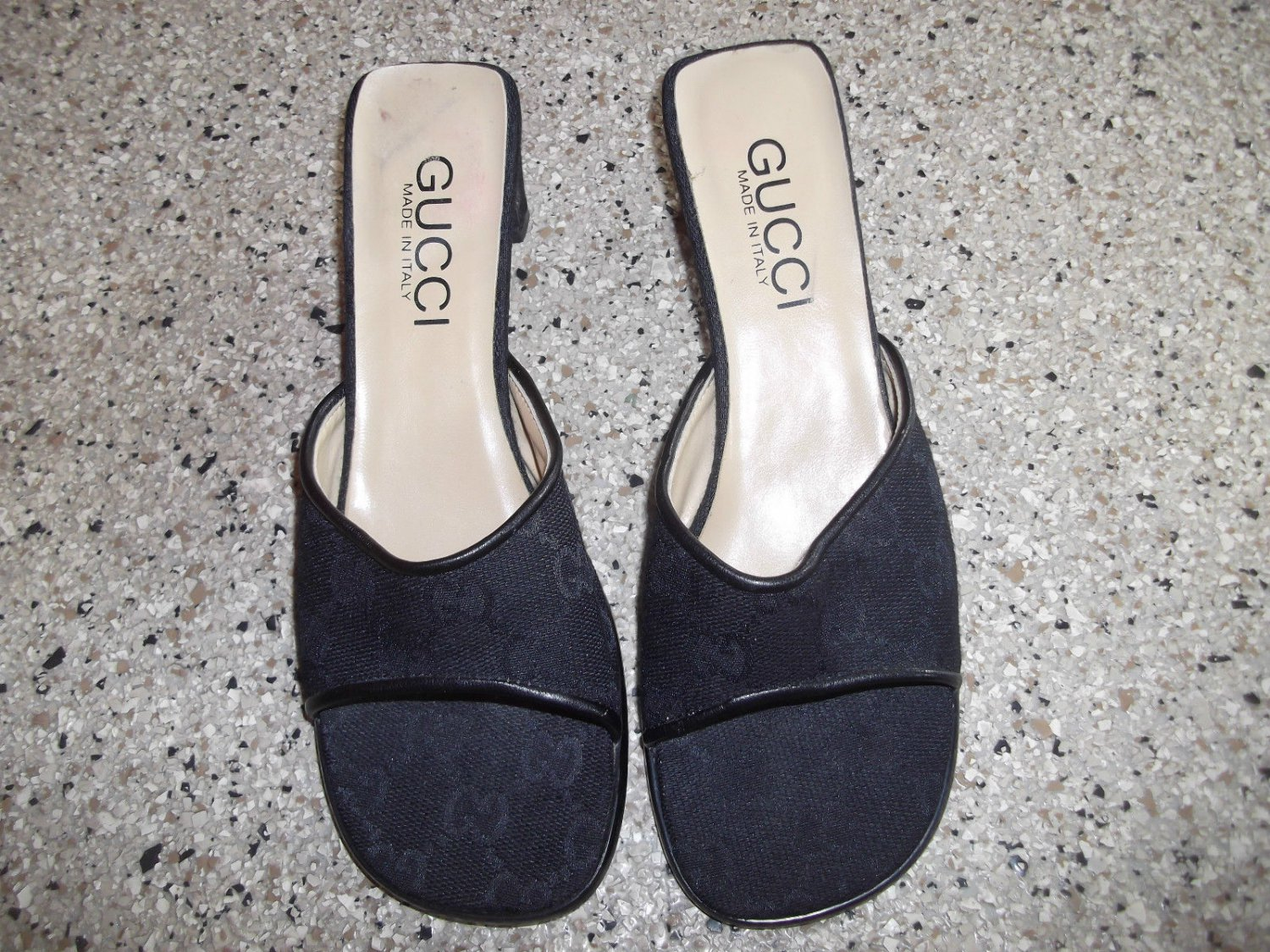 Lay a way for Bonnie Part 1 - Gucci Monogram Mules/Slides Size 7