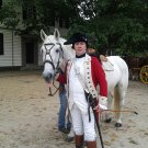 Nelson, General George Washington's Horse From Colonial Williamsburg