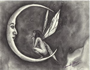 Moon & Fairy (Original)