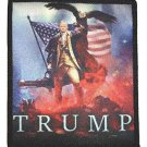 US president Donald Trump Embroidered Iron On Patch