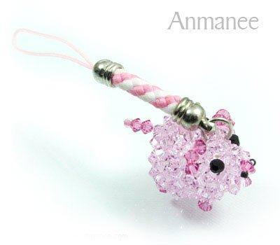 Lovely Pig Phone Strap 01061