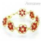 Handcrafted Swarovski Crystal Bracelet - Pellet Queen 010247