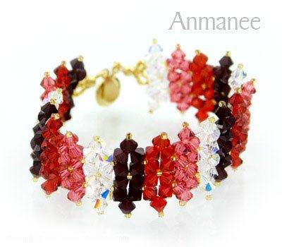Handcrafted Swarovski Crystal Bracelet - JDee 010219