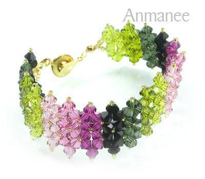 Handcrafted Swarovski Crystal Bracelet - JDee 010221